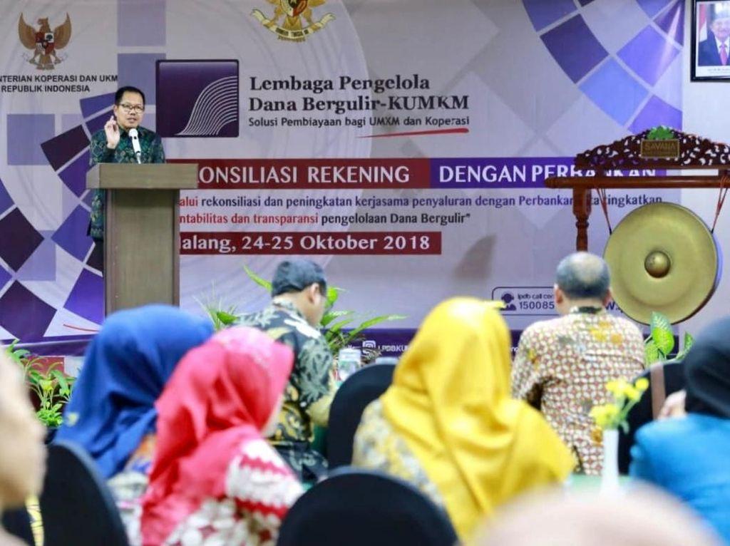Rekonsiliasi Data Rekening Triwulan III Tahun 2018 LPDB-KUMKM