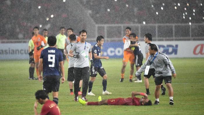 Timnas Indonesia gugur di perempatfinal Piala Asia U-19 2018. (Foto: Robertus Pudyanto Hari Pribadi/AFC)