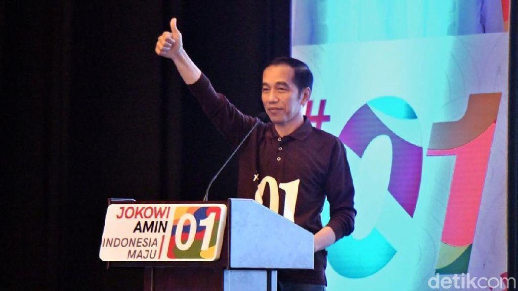 Berkaus #01, Jokowi Hadiri Rakernas TKN dan Beri Wejangan