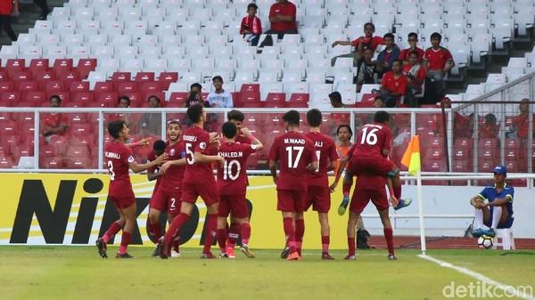 Kalahkan Thailand dan Lolos ke Piala Dunia, Qatar Disoraki Penonton