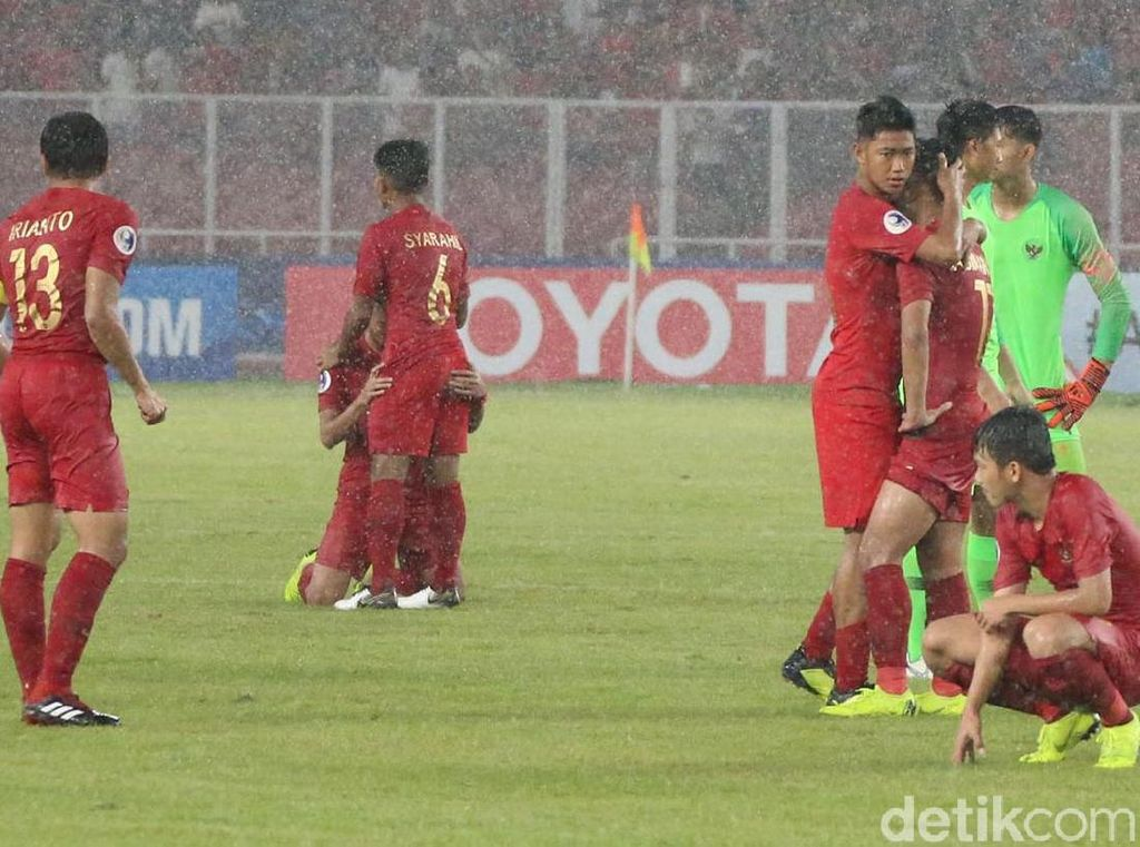 Potret Kesedihan Timnas Indonesia U-19