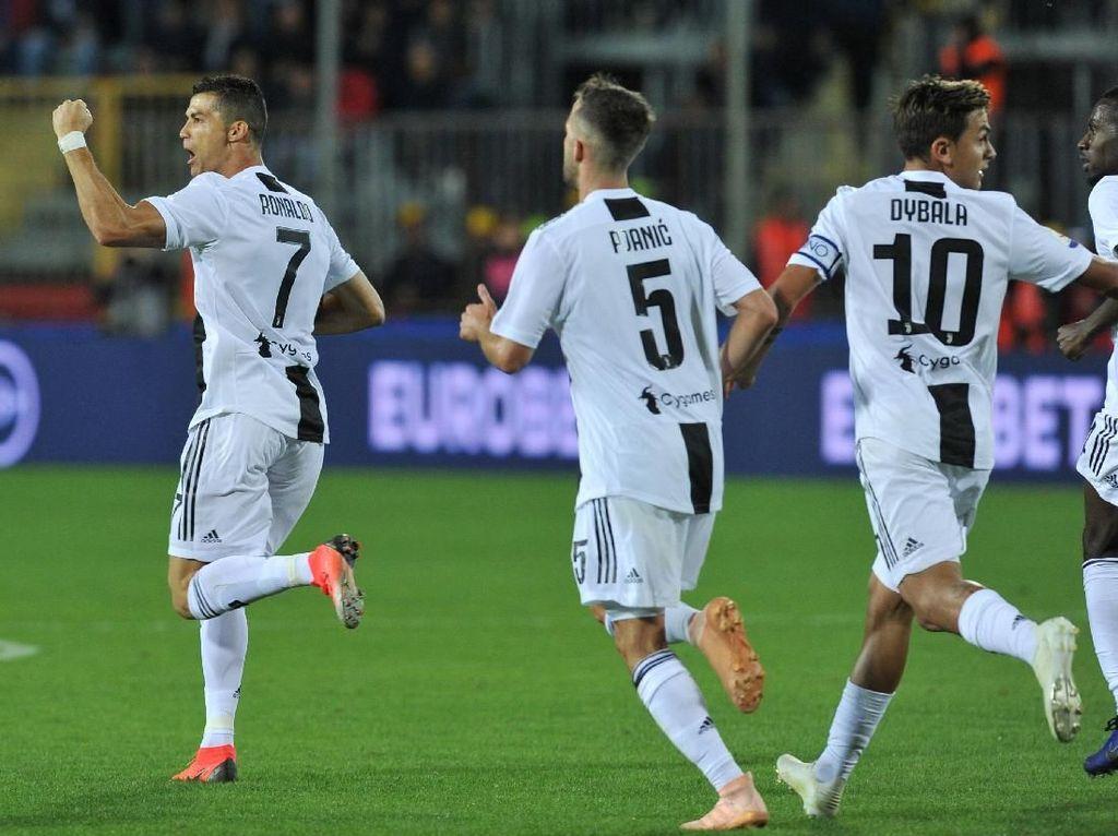 Ronaldo Pahlawan Kemenangan Juventus