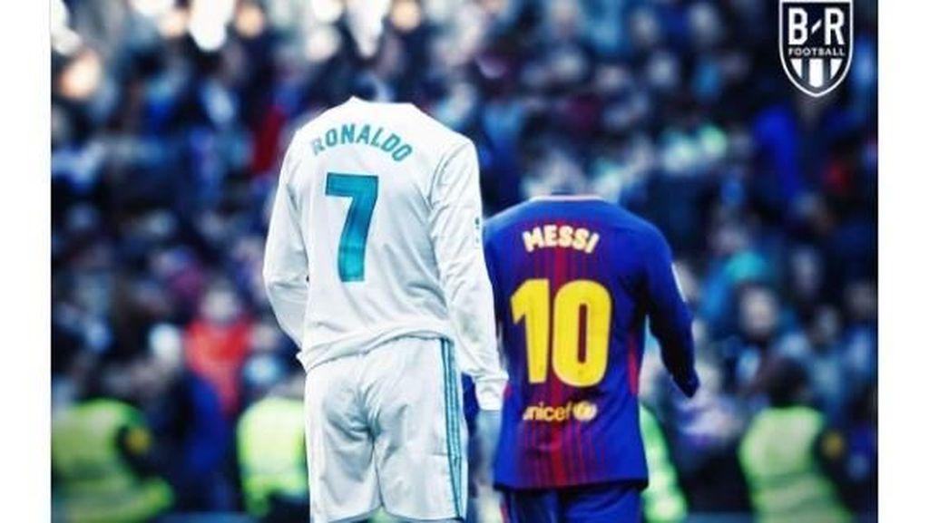 Meme Jadulnya El Clasico Terakhir Tanpa Ronaldo dan Messi
