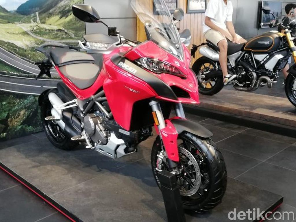 Motor Segala Medan Ducati Tembus Angka 100.000 Unit