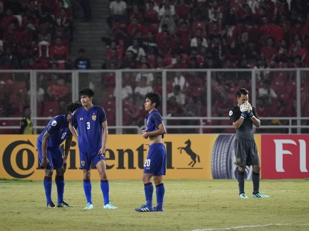 Kandas di Perempatfinal, Thailand Kalah Stamina dari Qatar