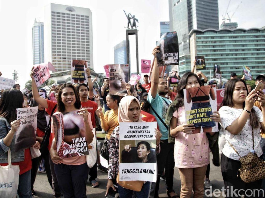 Aksi Pemuda Memaknai 28 Oktober di CFD