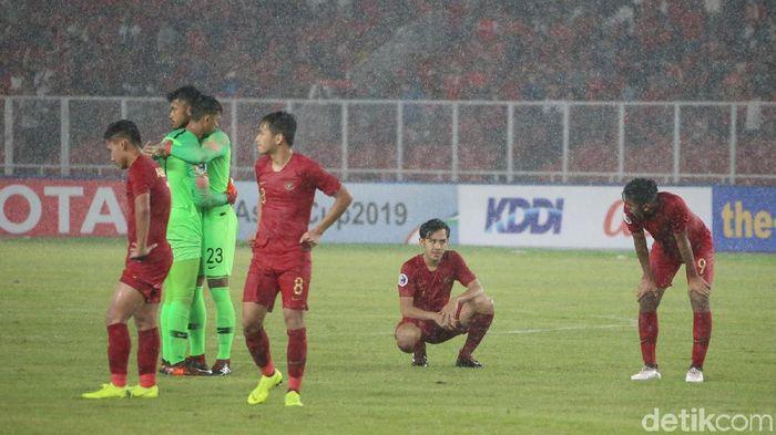 Indonesia kalah 0-2 dari Jepang di perempatfinal Piala Asia U-19. (Foto: Ari Saputra)
