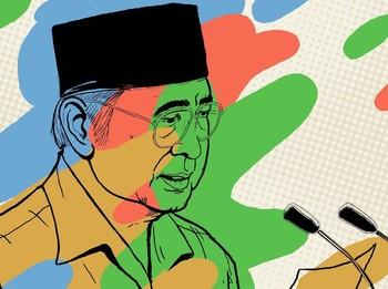 Pidato Presiden Soeharto dan Mikrolet Djohan