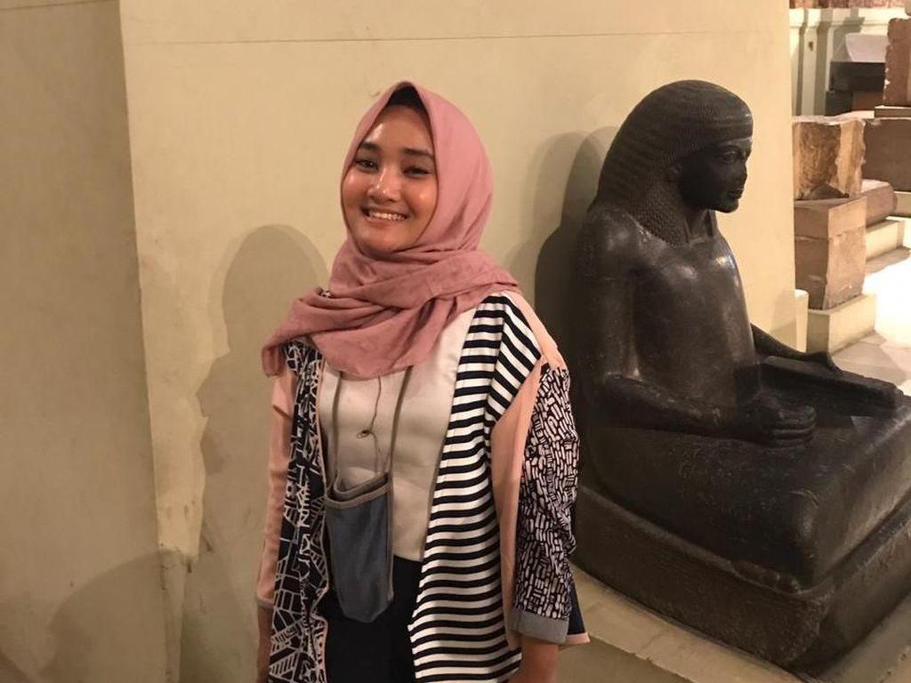 Waktu Senggang di Mesir, Fatin Jalan-jalan ke Muesum di Kairo