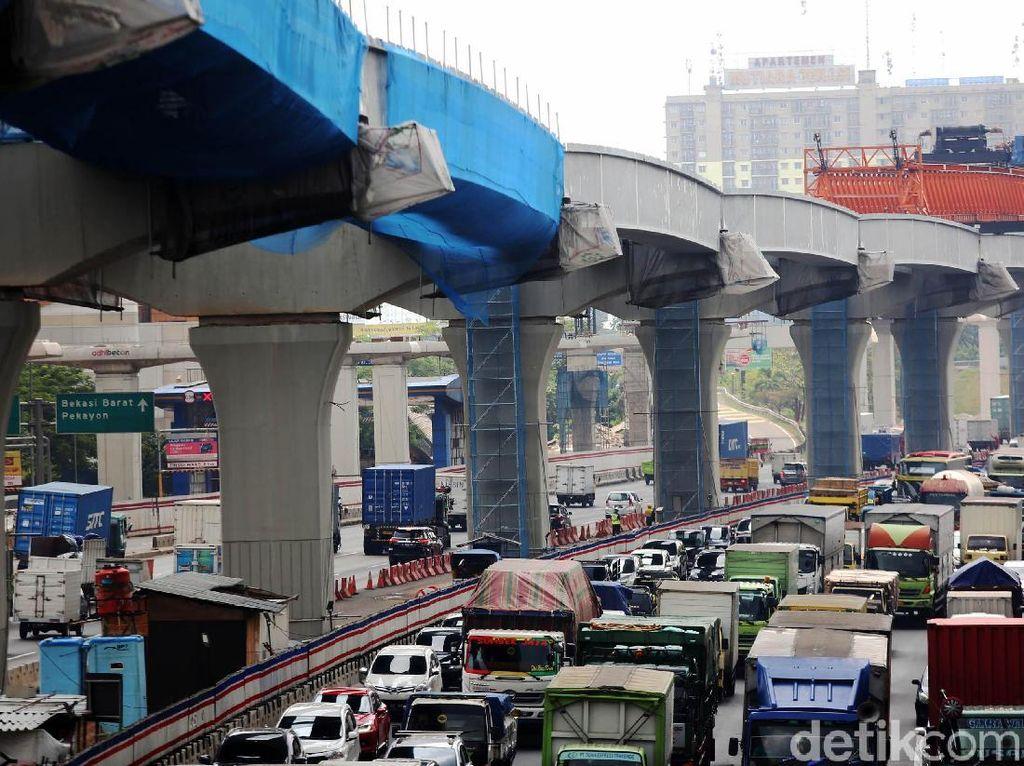 Penampakan Terkini Proyek Tol Jakarta Cikampek Layang