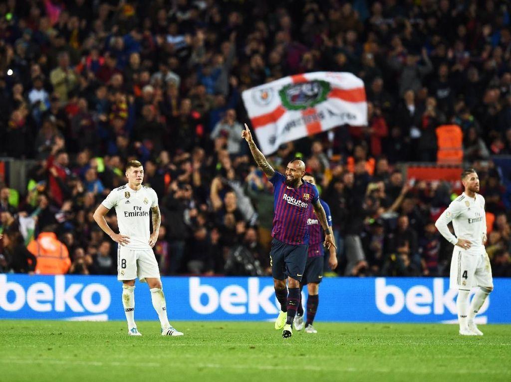 Barcelona dan Teror Lima Gol untuk Real Madrid