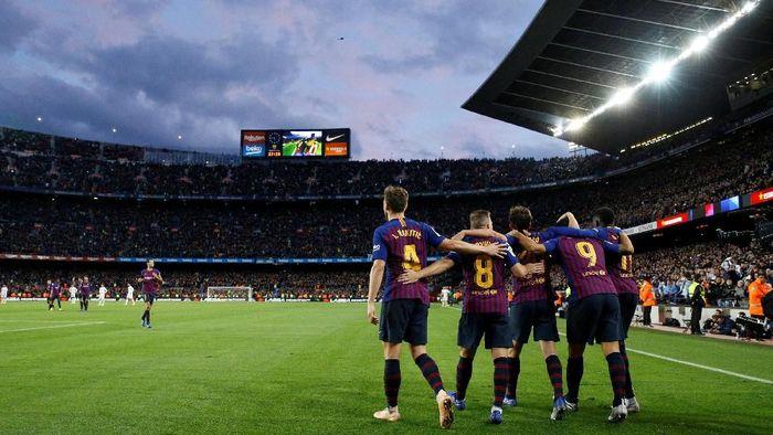 Barcelona akan tampil di final Copa del Rey melawan Valencia. (Foto: Paul Hanna/REUTERS)
