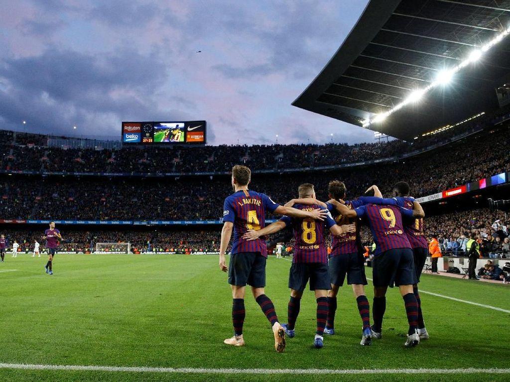 Kenikmatan Hakiki untuk Barcelona: Tanpa Messi Tetap Bisa Habisi Madrid
