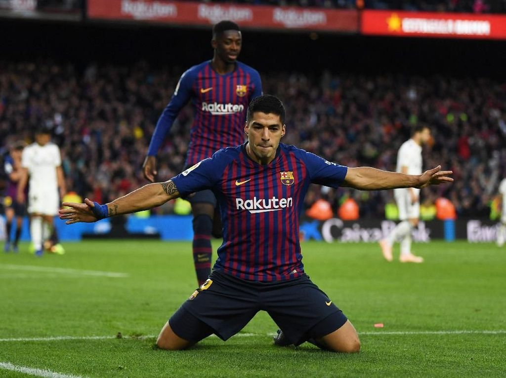 No Messi No Problem, Barcelona Punya Luis Suarez