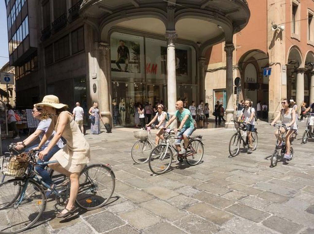 Asyik! Bisa Dapat Gelato Gratis Kalau Sering Pakai Sepeda di Kota Ini