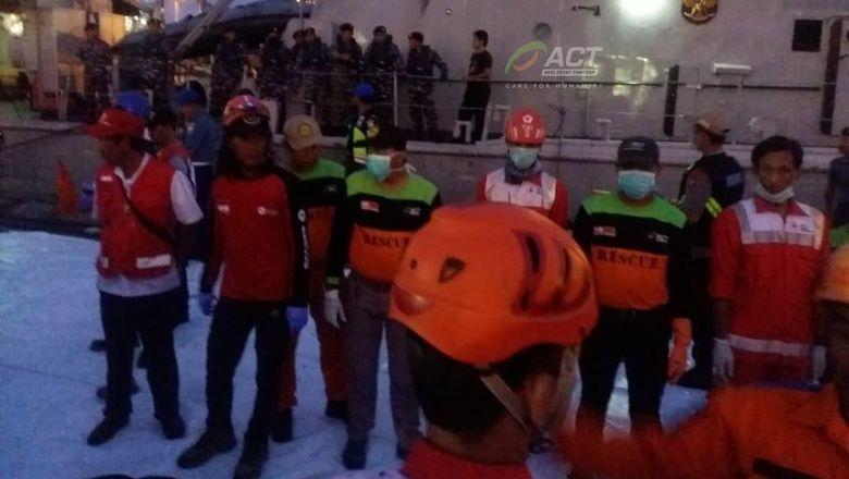 ACT Terjunkan Tim Penyelamat Bantu Evakuasi Lion Air JT 610