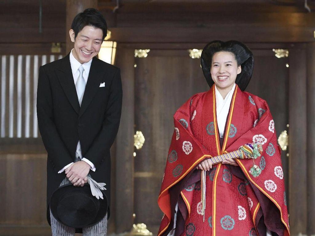 Momen Terakhir Jadi Putri Jepang, Ayako Pakai 3 Gaun Saat Nikahi Pria Biasa