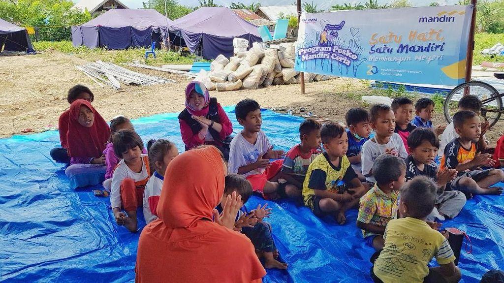 Pemulihan trauma Anak-anak Korban Gempa