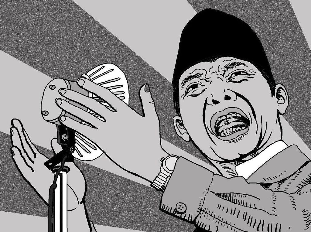 Ada Tokoh PKI di Balik Pidato Bung Karno