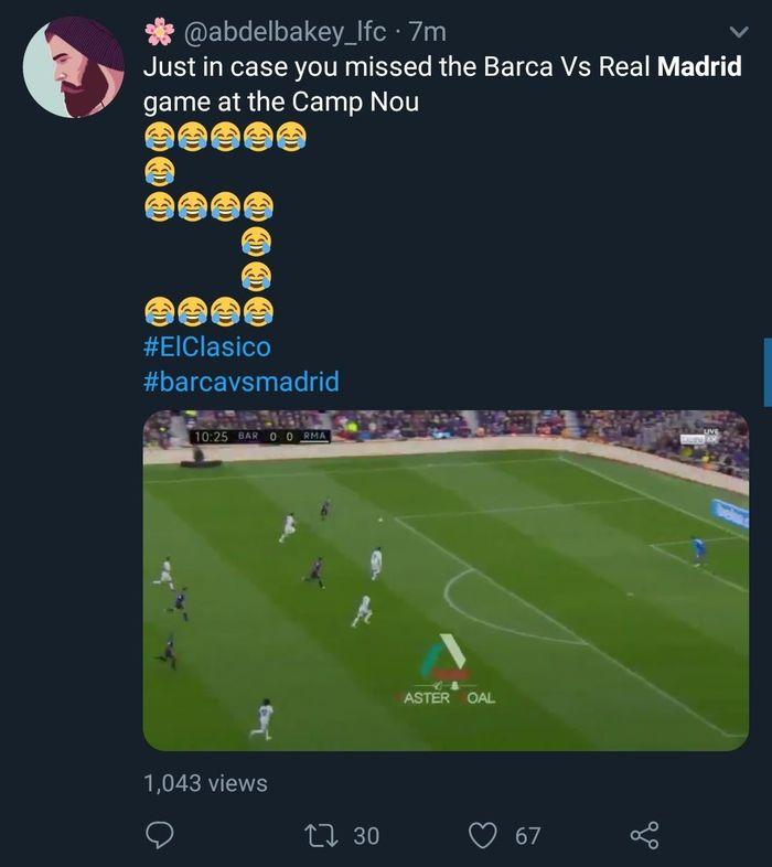 Dilumat Barcelona Real Madrid Dihajar Meme