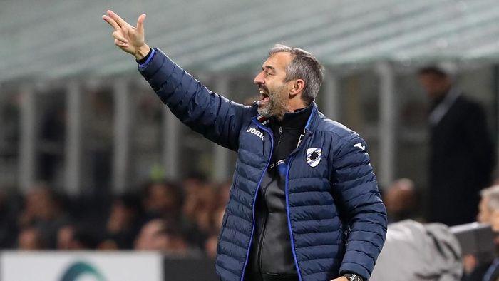 Marco Giampaolo akan punya tugas berat sebagai pelatih baru AC Milan (Marco Luzzani/Getty Images)