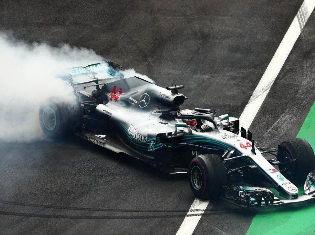 Lewis Hamilton Juara Dunia F1 2018
