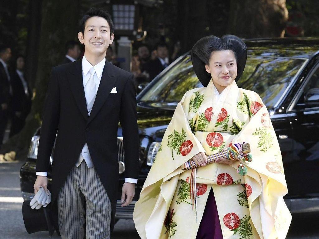 Foto: Pernikahan Putri Jepang yang Rela Tinggalkan Kerajaan Demi Orang Biasa