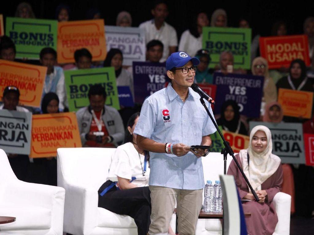 Sandiaga Hadiri Indonesia Young Entrepreneur Summit 2018