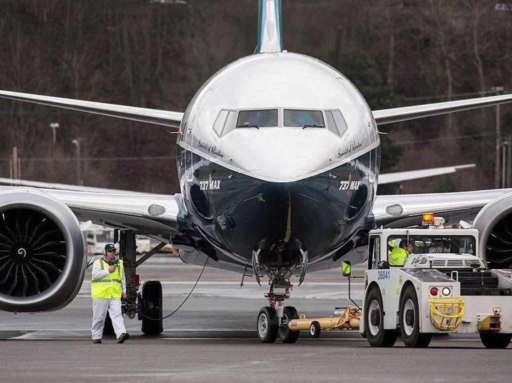 Kemenhub Grounded Boeing 737 MAX 8 sampai Waktu Tak Ditentukan