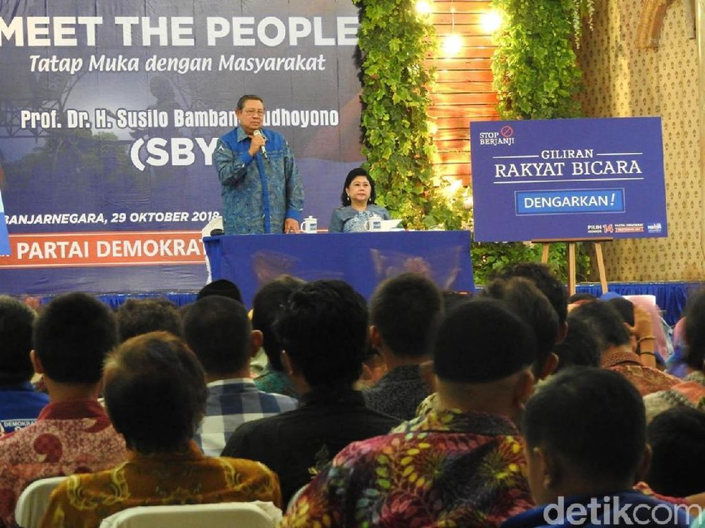 Jelang Pileg, SBY Minta Kader Demokrat Tidak Obral Janji