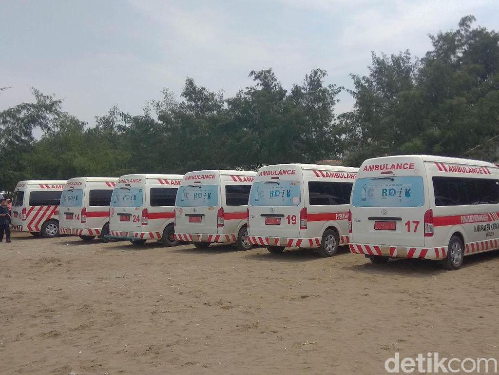 Pemkab Karawang Sediakan 20 Ambulans untuk Evakuasi Korban Lion Air