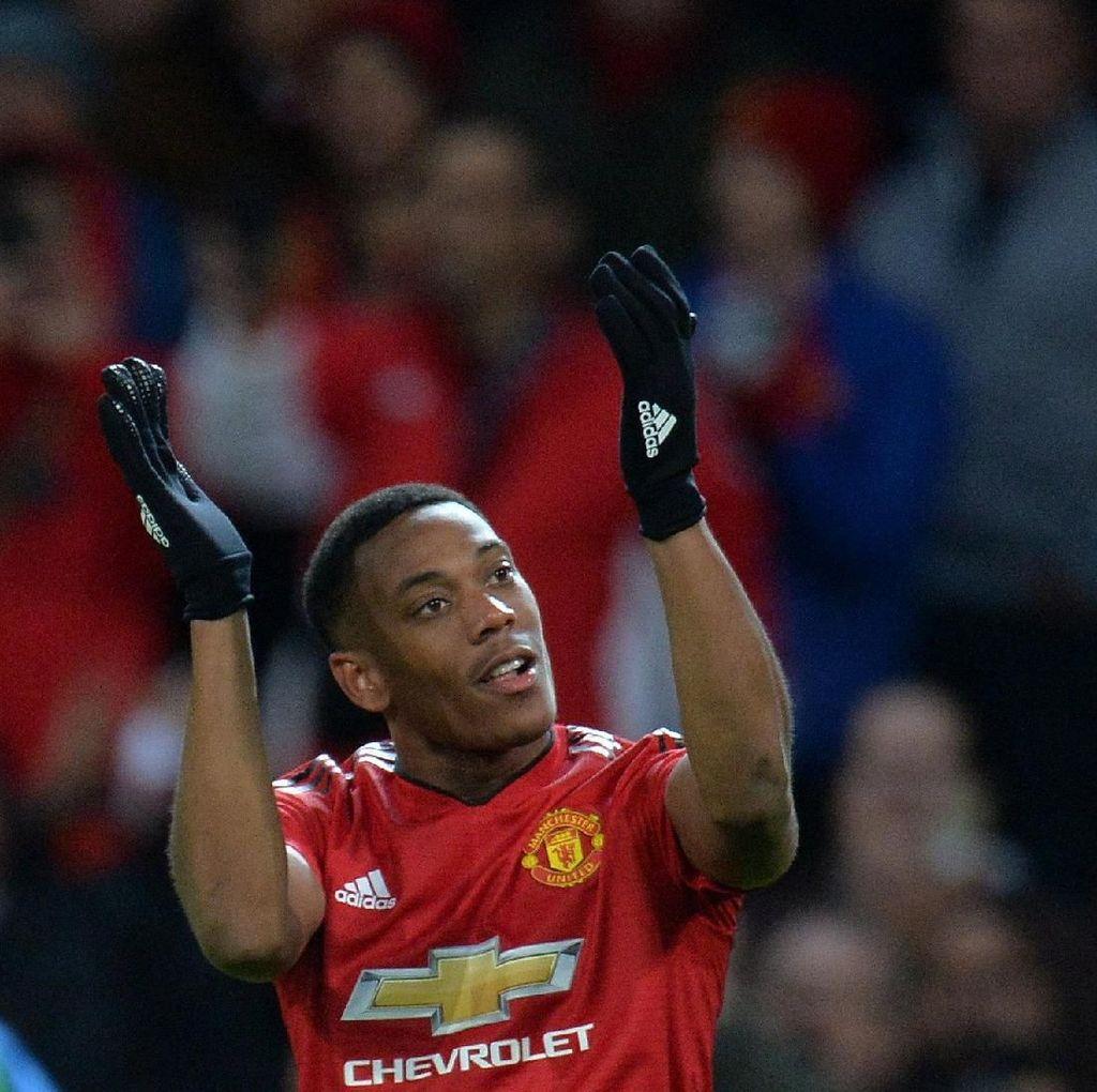 Peluang Martial Lanjutkan Laju Gol Saat Lawan MU Vs Crystal Palace