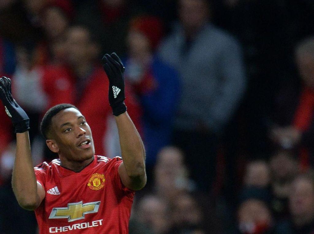 Peluang Martial Lanjutkan Laju Gol Saat MU Vs Crystal Palace