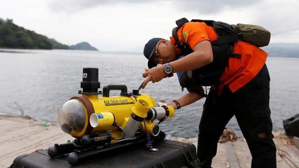 Ini Robot Selam untuk Lihat Kondisi Lion Air JT 610 di Bawah Laut