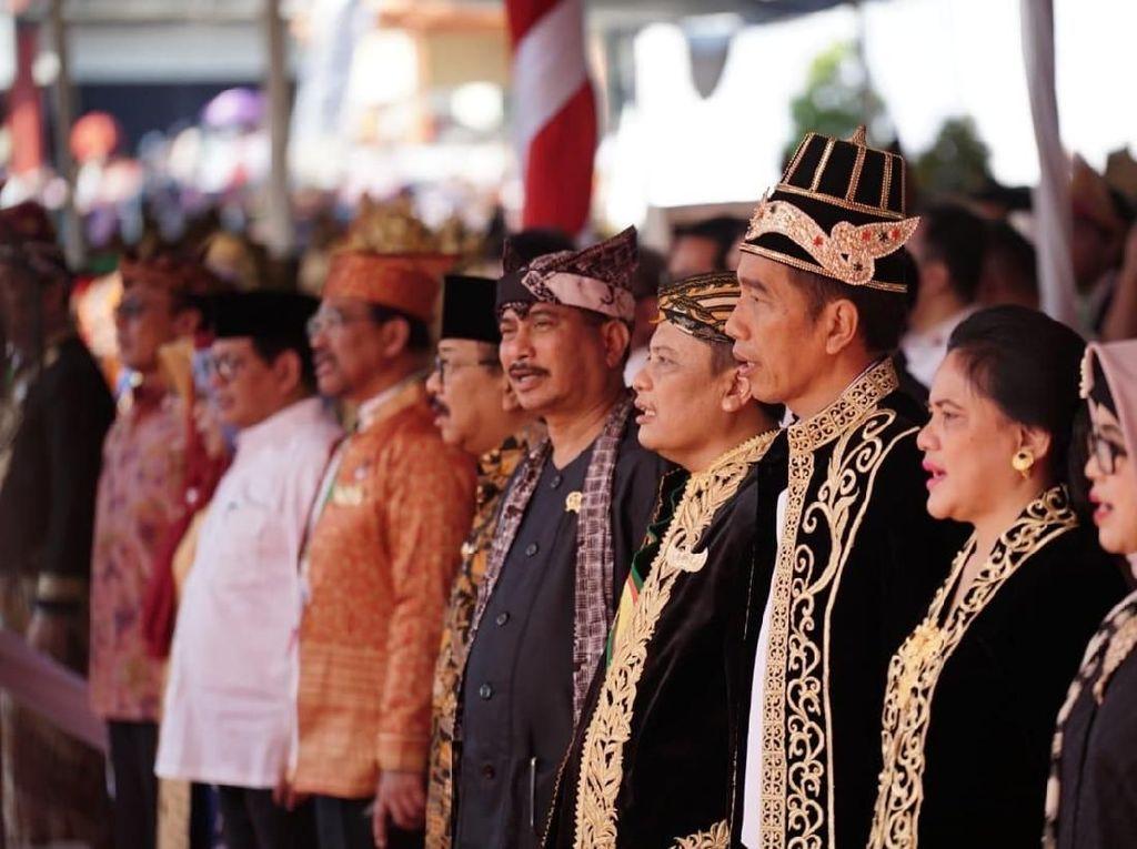 Jokowi Jadikan Festival Keraton Nusantara untuk Satukan Bangsa