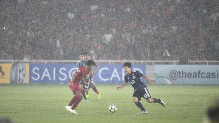 Indonesia kalah 0-2 dari Jepang di perempatfinal Piala Asia U-19. (Foto: AFC)