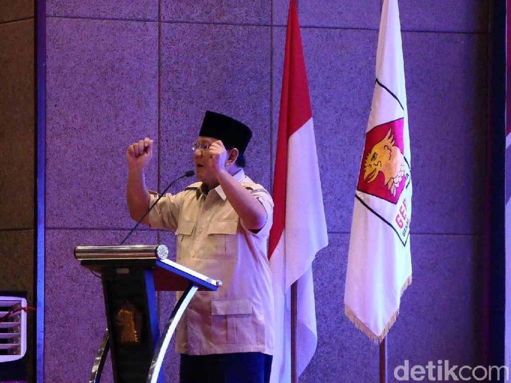Ini Rahasia Prabowo Mampu Bicara Berjam-jam