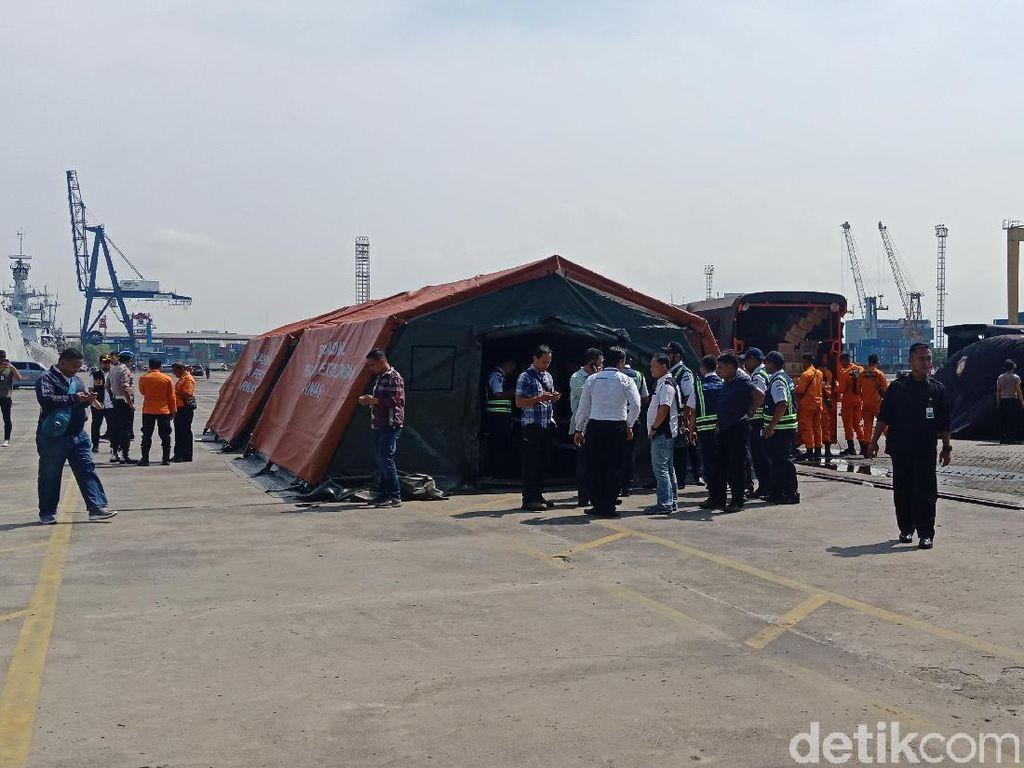 Basarnas Buat Posko Utama Korban Lion Air JT 610 di JICT 2
