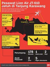 Puing Lion Air JT-610 Ditemukan di Jarak 2 Kilometer