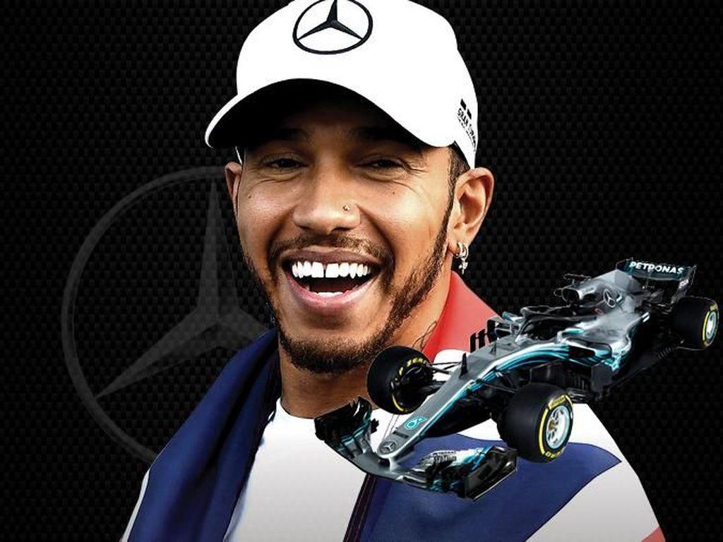 Sudah Lima Gelar F1, Hamilton Samai Fangio dan Kejar Schumi