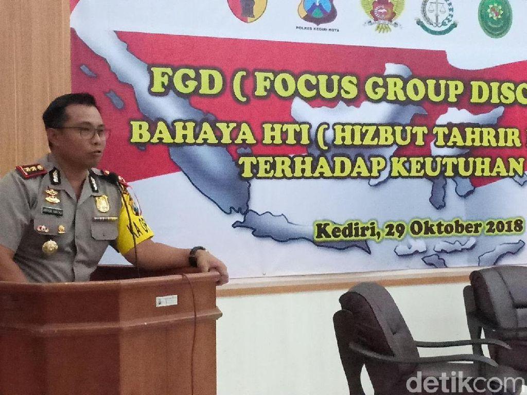 Polisi Ajak Warga Kediri Diskusi dan Menjaga Keutuhan NKRI