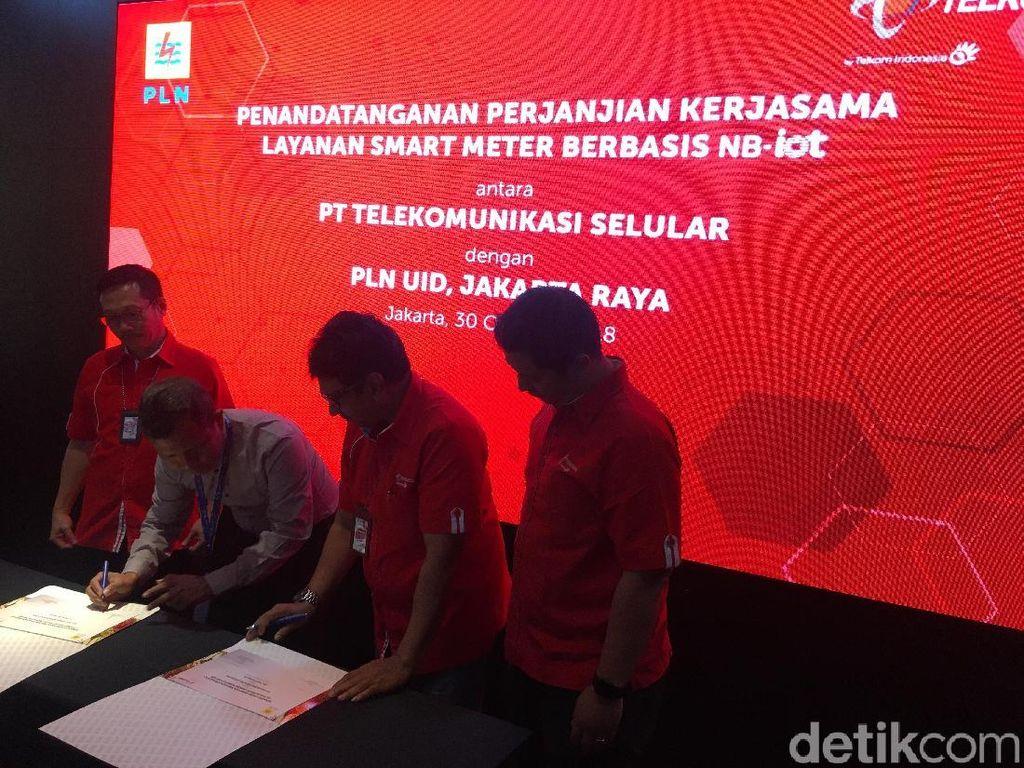 Telkomsel-PLN Implementasikan Layanan Smart Meter Berbasis NB-IoT