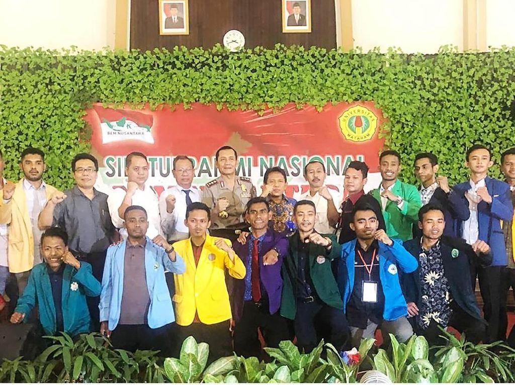 Silatnas BEM se-Nusantara di Mataram