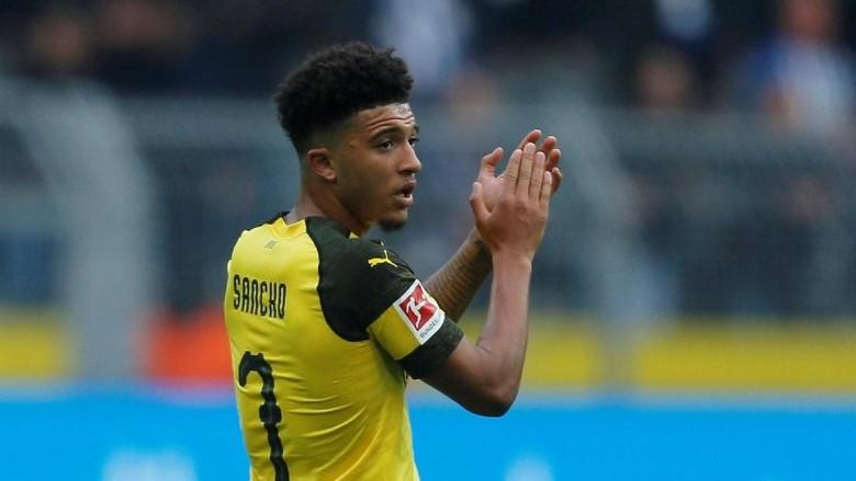 Insiden Paspor Sancho Ketinggalan Jelang Tottenham vs Dortmund