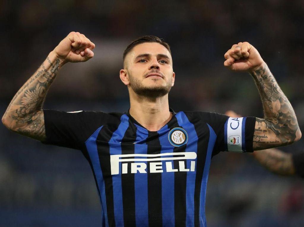Digantung Juventus, Icardi Mulai Lirik Tawaran Napoli?