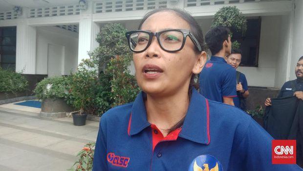 Eva Dewi Rahmadiano satu-satunya perempuan di Timnas Indonesia untuk HWC 2018. (
