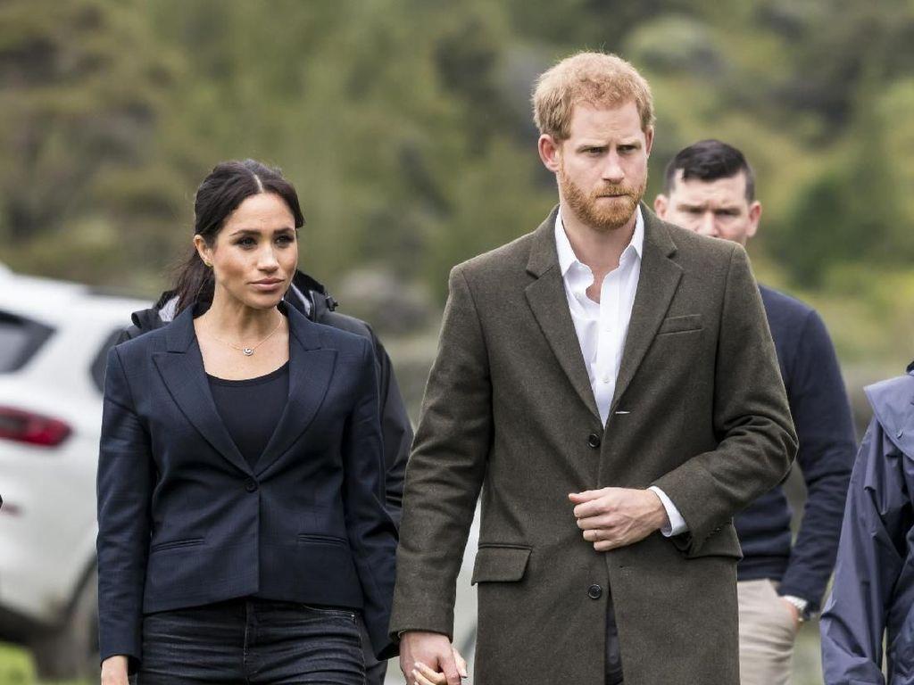 Persiapan Menyambut Anak, Pangeran Harry-Meghan Pindah Rumah