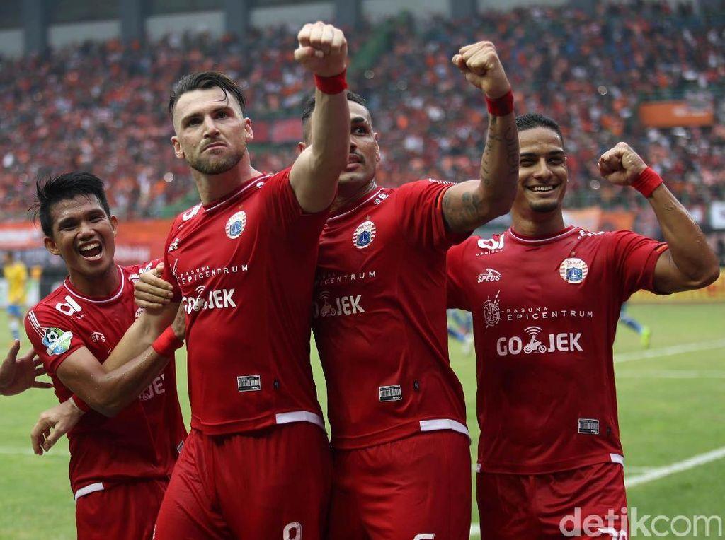 Persija Gasak Barito Putera 3-0
