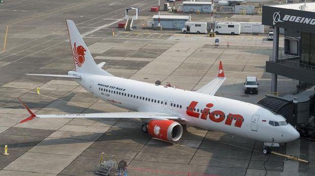 Lion Air PK-LQP Boeing 737 MAX 8 /