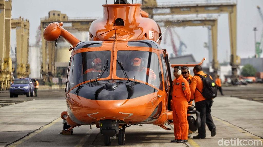 Cari Korban Lion Air, Helikopter Basarnas Siap Tempur Lagi